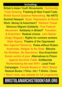 Programme out now for the 2014 Bristol Anarchist Bookfair