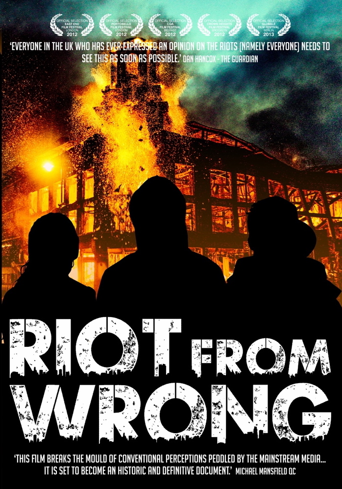 Free event: Low budget film making and screening of 'Riot From Wrong' 24th May
